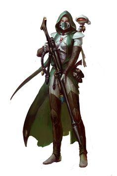 Amallyn-Shadowguide-Asuryani-Ranger, by Paul Dainton Warhammer 40k Miniatures, Warhammer 40000, Warhammer 40k Dark Eldar, Warhammer 40k Memes, Star Citizen, Character Concept, Character Art, Character Inspiration, Concept Art