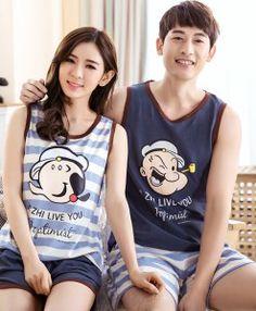 b0e05ae7b6 17 Best Couple Pajama Sets images in 2017 | Couple pajamas, Pajama ...