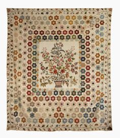 Little Welsh Quilts and other Traditions: Pretty, flowery quilts!
