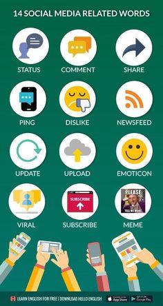 social media vocabulary
