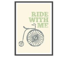 Ride with me or can I ride you!