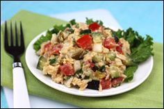 Scoopable Summer Salads! (New Recipes) Fiery Tuna Salad
