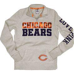 Women's Victoria's Secret PINK® Chicago Bears 1/2 Zip Fleece - NFLShop.com. $79.99