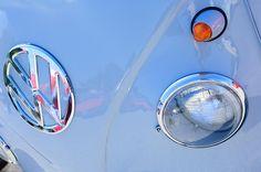 Volkswagen Images by Jill Reger - Images of Volkswagens - VW Images - 1959 Volkswagen Vw Panel Delivery Van Emblem