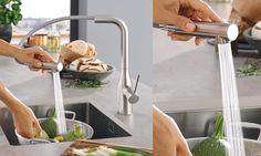 robinet mitigeur évier cuisine douchette Essence Grohe