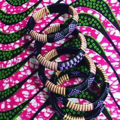 Purple Bangels Made in Mali Available online or at the holiday market in Brooklyn today at 190 Court Street  ~~~~~~~~~~~~~~~~~~~~~~~~~~~~~~~~~~~~~  #holidaymarket #fadweekend #accessories #bracelets #madeinmali #africanfashion #fashion #prints #bracelets #style #apif #apifrocks