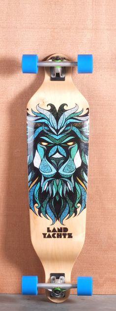 Nice illustration / cool board shape
