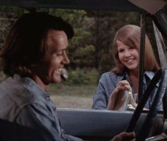 Martin Sheen and Linda Blair in 'Sweet Hostage', 1975