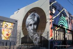 Downtown LA Arts District - Photo © 2015 Kayte Deioma, licensed to About.com. Murals in the Downtown Los Angeles ...