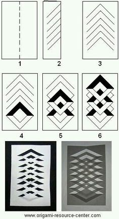 Learn how to make a kirigami window decoration. Very easy t.- Learn how to make a kirigami window decoration. Very easy to make and uses only paper and a pair of scissors. Free instructions to other origami and kirigami arts and crafts. Read more… - Origami And Kirigami, Paper Crafts Origami, Diy Paper, Paper Crafting, Fancy Fold Cards, Folded Cards, Art And Craft Videos, Paper Weaving, Card Making Techniques