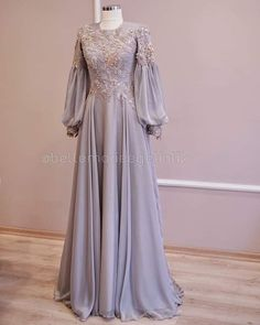 Dress Patterns Wedding New Looks Hijab Evening Dress, Hijab Dress Party, Evening Dresses, Dress Brokat Muslim, Muslim Dress, Kebaya Dress, Dress Pesta, Most Beautiful Dresses, Elegant Dresses