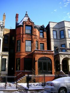 Brownstone - lots of these homes in Philadelphia