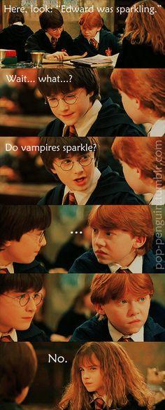 do vampires sparkle?