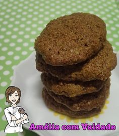 Cookie Integral de Maçã