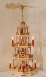 "Whirligig Christmas  Antique Candle-Powered Chimes  ""Angel Chimes"" Introduction & History   ""The Candles burn, the angels turn"""