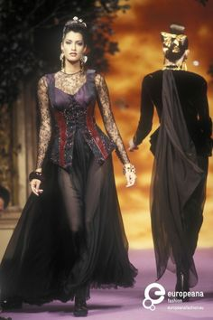 Christian Lacroix, Autumn-Winter 1992, Couture