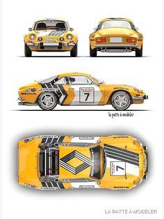 Alpine Renault, Renault Sport, Sport Cars, Race Cars, Automobile, Racing Car Design, Car Prints, Tuner Cars, Porsche Cars