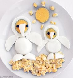 20 Egg Decoration ideas Egg Penguin photo