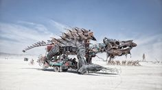 The Bikes, Art Cars, and Wacky Vehicles of Burning Man