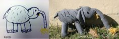Kati's Elephant. Her husband wanted me to make it for their anniversary. Awesome!