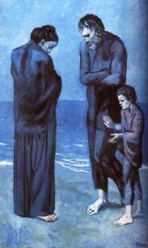 Poveri in riva la mare - Picasso Periodo Blu