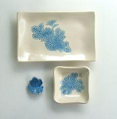 Handbuilt Ceramic Sushi Set, Mum, by Sumiko Braithwaite