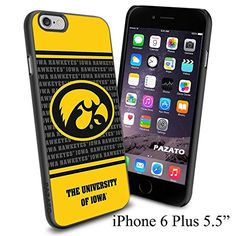 "NCAA O THE UNIVERSITY OF IOWA , Cool iPhone 6 Plus (6+ , 5.5"") Smartphone Case Cover Collector iphone TPU Rubber Case Black Phoneaholic http://www.amazon.com/dp/B00VVOCR5A/ref=cm_sw_r_pi_dp_NP1nvb18VWKZQ"