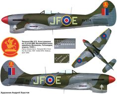 Hawker Tempest di Pierre Closterman https://it.pinterest.com/pin/524599056573750854/