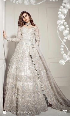 Pakistani wedding outfits - Pakistani wedding dresses - Pakistani bridal wear - Desi wedding dre - Source by - Asian Bridal Dresses, Pakistani Wedding Outfits, Pakistani Bridal Dresses, Pakistani Wedding Dresses, Bridal Outfits, White Wedding Dresses, Indian Dresses, Indian Outfits, Bridal Gowns