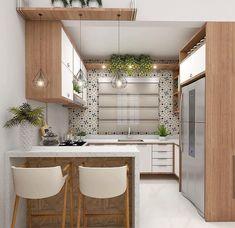 35 suprising small kitchen design ideas and decor 20 - Kitchen Furniture Kitchen Room Design, Best Kitchen Designs, Kitchen Cabinet Design, Kitchen Sets, Modern Kitchen Design, Home Decor Kitchen, Interior Design Kitchen, Kitchen Furniture, Home Design