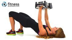 37 Minute Upper Body Superset Workout with Fat Burning Cardio Intervals - Arm, Chest, Back & Shoulder Workout - Fitness Blender