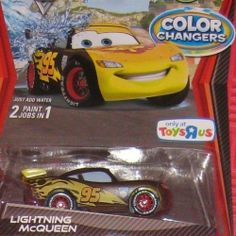 Disney / Pixar CARS Movie 1:55 Scale Die Cast Cars Color Changers Lightning McQueen Race Around the World Edition by Mattel. $42.99. Race Around the World Background Card. Disney / Pixar CARS Movie 1:55 Scale Die Cast Cars Color Changers Lightning McQueen Race Around the World Edition. Disney / Pixar CARS Movie 1:55 Scale Die Cast Cars Color Changers Lightning McQueen Race Around the World Edition