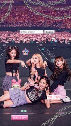 Blackpink in area Kpop Girl Groups, Korean Girl Groups, Kpop Girls, Blackpink Jisoo, Blackpink Youtube, Foto Top, Mode Rose, Blackpink Poster, Mode Kpop