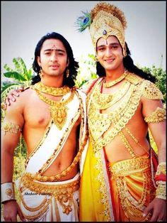 arjuna and basudewa khrisna :D