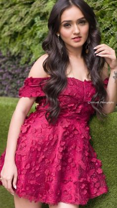 Follow @madhu Dark Eyebrows, Indian Star, Crazy Girls, Girl Poses, Beautiful Actresses, Cool Outfits, Fashion Dresses, Fashion Looks, Formal Dresses