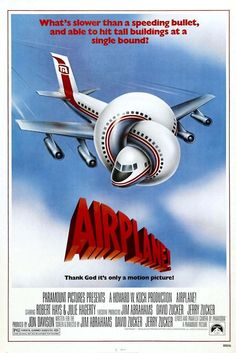 A great poster from Airplane! Still one of the best comedy movies of all time with so many hilarious one-liner's :) Ships fast. Need Poster Mounts. Funny Movies, Comedy Movies, Great Movies, Hindi Movies, Funniest Movies, Funny Comedy, Excellent Movies, Man Movies, 80s Movie Posters