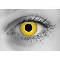 Click for More Info About Zombie Yellow Contact Lenses