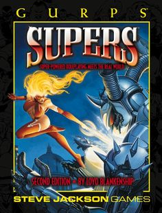 GURPS Supers 2nd edition