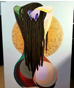 black women curves line Sexy Black Art, Black Love Art, Black Girl Art, My Black Is Beautiful, Art Girl, Moda Afro, Arte Black, Afrique Art, Natural Hair Art