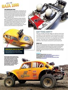 From our January 2013 issue comes this eye-popping Kevin Jowett creation, based on Tamiya's legendary Sand Scorcher. Lots of great detail here, and it couldn't look more killer. Read RC Car Action …