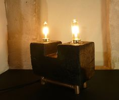 lampes industrielle, steampunk