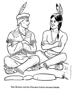 Indian Horse Coloring Sheets | Native Americans or Indians ...