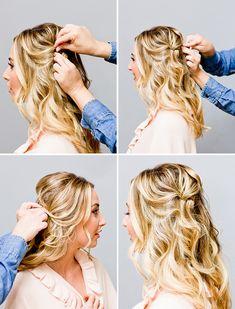 How To: Bardot Hair Tutorial