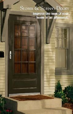Pella Storm Door Options Designs Plans Porch Doors Entry Garage