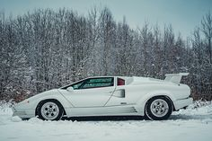 The 1991 Lamborghini Countach Celebrated 25 Years of Awesome Cars | Man of Many