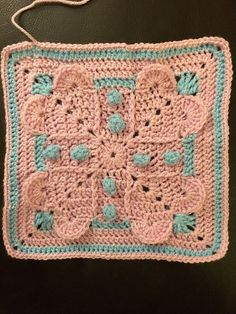 "Ravelry: Project Gallery for Never Ending Love 12"" Square pattern by Aurora Suominen"