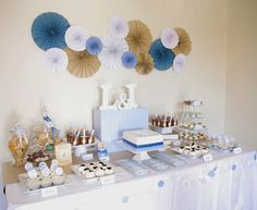 "Photo 1 of Peter Rabbit / Baptism ""Twin boys Christening dessert table""… Baby Boy Baptism, Boy Christening, Baptism Party, Baptism Ideas, Baptism Cupcakes, Christening Dessert Table, Boys Christening Decorations, Baptism Centerpieces, Wheat Centerpieces"