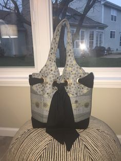My favorite bag pattern by Kati cupcake I like this purse because it has 6 pockets on outside and 6 on the inside