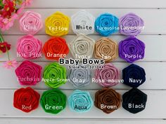 1000pcs/lot Rose Flowers Kids Hair Accessory  http://gdtraders.com/products/1000pcslot-rose-flowers-kids-hair-accessory/