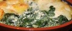 Aardappelgratin met spinazie en romige mascarpone | Lekker Tafelen